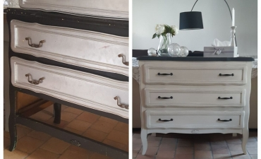 Commode relookée